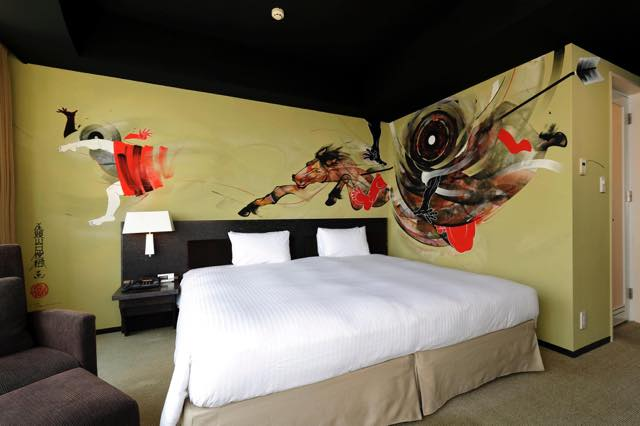 Art Project at Park Hotel Tokyo – Artist Room Tours –